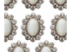Embellishments / Verzierungen Vintage Rhinestone Charms