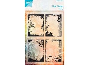 Joy!Crafts und JM Creation Gennemsigtige frimærker: ATC