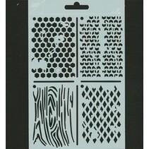 Polybesa Schablonen ATC, Stencil
