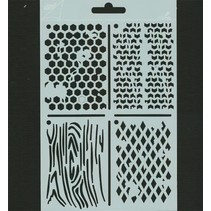 Polybesa stencil ATC, Stencil