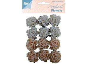 Embellishments / Verzierungen Plastic flowers