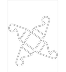 Dekoration Schachtel Gestalten / Boxe ... Poly Besa Stencil: praline kasse