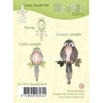 Transparent stamps: Bird