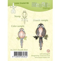 Transparent Stempel: Vogel