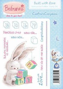 Crafters Company: BeBunni Stempel Gummi stempel, BeBunni Tema: Baby