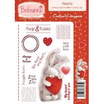 Rubber stamp, BeBunni Theme: Love