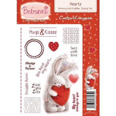 Crafters Company: BeBunni Stempel Gummi Stempel, BeBunni Thema: Love