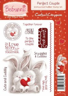 Crafters Company: BeBunni Stempel Rubber stamp, BeBunni Theme: Love