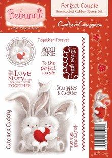 Crafters Company: BeBunni Stempel timbro di gomma, BeBunni Tema: Amore