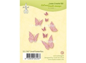 Leane Creatief - Lea'bilities Transparent stamp: small butterflies