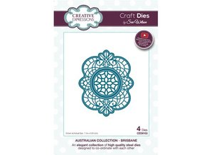 Creative Expressions Punching and embossing template: The Australian Collection