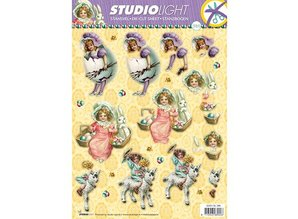 BILDER / PICTURES: Studio Light, Staf Wesenbeek, Willem Haenraets A4 cut sheets, Theme: Easter