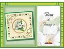 Bücher und CD / Magazines Bastelbuch Emne: Flora en fauna Stickvorlage