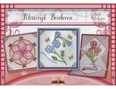 Bücher und CD / Magazines Bastelbuch theme: flowers with Stickvorlage