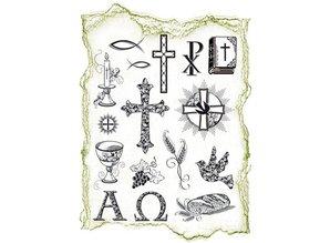 Viva Dekor und My paperworld Transparent stamps Topic: religious occasions
