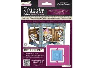 Die'sire Stamping and embossing stencil of Diesire, card making