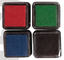 FARBE / INK / CHALKS ... Mini Mascara ink pad, set of 4