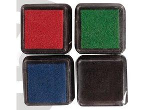 FARBE / INK / CHALKS ... Mini Mascara ink pad, set of 4