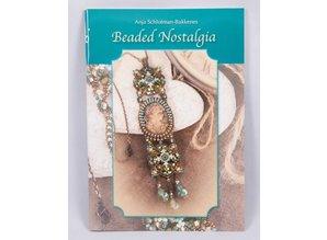 Bücher und CD / Magazines Perlenbuch 21 x 15 cm, Beaded Nostalgi