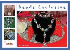 Bücher und CD / Magazines Perlenbuch 21 x 15cm, Beaded Exclusive