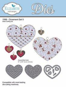 Taylored Expressions Stanz- und Prägeschablonen: Herzen mit Ornamenten
