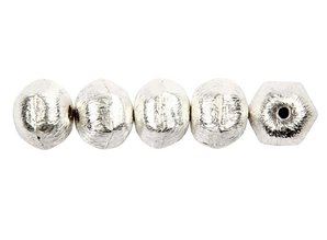 Schmuck Gestalten / Jewellery art grano exclusiva con el agujero transversal, D: 10 mm, tamaño del agujero de 1 mm
