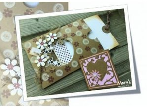 Joy!Crafts und JM Creation Punching and embossing stencil: square with heart