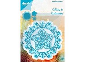 Joy!Crafts und JM Creation Stansning og prægning skabeloner: Cirkel med blomster
