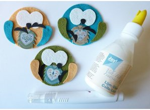 Joy!Crafts und JM Creation Skæring & Embossing - Eulchen