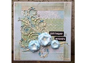 Creative Expressions Punching and embossing template: The Finishing Touches Collection