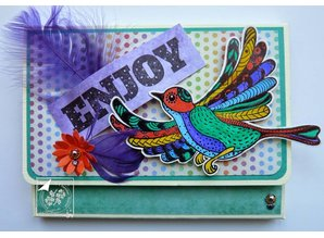 Stempel / Stamp: Transparent Transparent stempel: Zentangle fugle