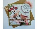 Joy!Crafts und JM Creation Joy Crafts, stansning - og prægning skabelon Spring Kærlighed, blomster / bær
