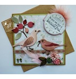 Joy!Crafts und JM Creation Joy Crafts, Stanz - und Prägeschablone, Spring Love, Blumen/Beeren
