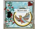 Stempel / Stamp: Transparent Transparent stamp: Zentangle birds