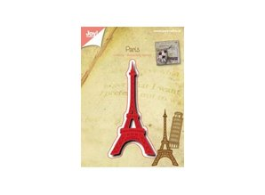 Joy!Crafts und JM Creation Punching and embossing templates: Eiffel Tower
