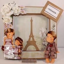 Joy!Crafts und JM Creation Punzonatura e goffratura modelli: Torre Eiffel