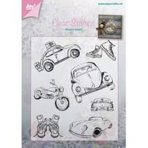 Transparent stamp: Auto - Männersache