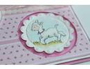 Stempel / Stamp: Transparent sellos transparentes: primavera, bebé