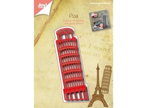Joy!Crafts und JM Creation Punching and embossing templates: Tower of Pisa