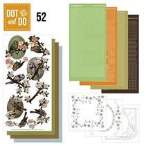 Bastelset for 3 Cards: spring, birds