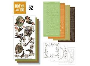 Exlusiv Bastelset for 3 Cards: spring, birds