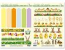 BASTELSETS / CRAFT KITS: Bastelset for 6 æggebæger