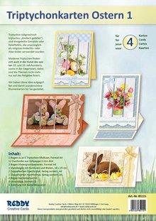 REDDY Komplett Bastelset für 4 Karten + Umschlägen