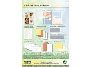 REDDY Completar Bastelset para 4 tarjetas + sobres