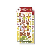 Die cut sheets for Easter decorations
