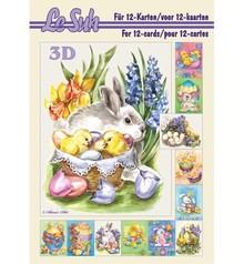 Bücher und CD / Magazines 3D Bastelbuch, A5