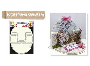 KARTEN und Zubehör / Cards Card Art Pop up card oval