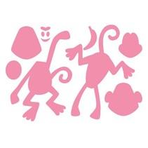 Stanz- und Prägeschablone: Eline's Monkey