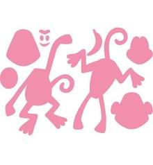 Marianne Design Stanz- und Prägeschablone: Eline's Monkey