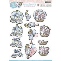 A4 afskårne ark, Tema: Baby